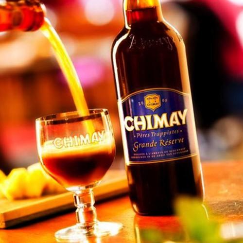 Bouteille de bière Chimay bleue 9° grande réserve 75cl (Bière)