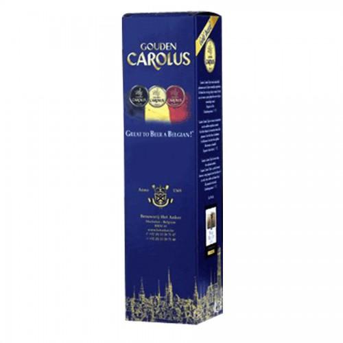 Bouteille de bière Ambrio Carolus 8°