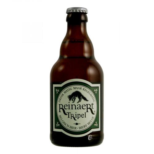 Bouteille de bière Reinaert Triple