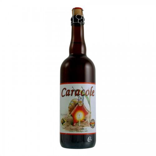Bouteille de bière Caracole Ambrée 75CL 7,2°