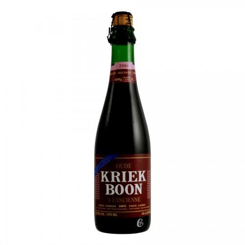 Bouteille de bière Boon Oud Kriek 6,5°