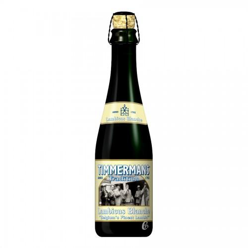 Bouteille de bière blanche Lambicus Timmermans 37.5cl