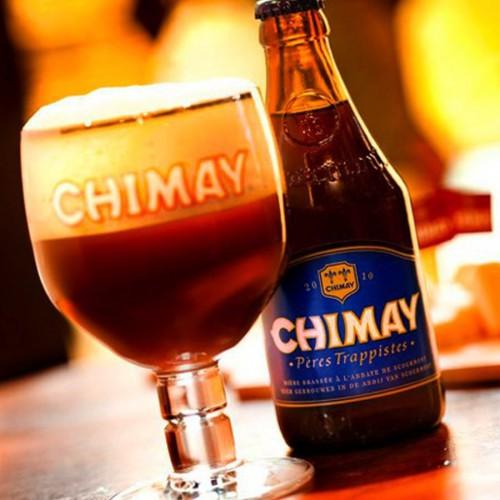 Bouteille de bière Chimay bleue 9°