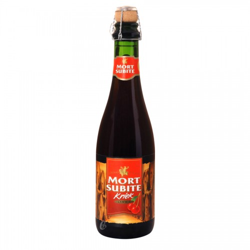 Bouteille de bière Kriek Mort Subite 4,5°