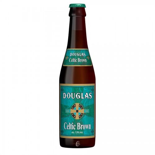 Bouteille de bière Douglass Celtic Brown 7,9°