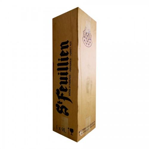 Bouteille de bière SAINT FEUILLIEN 9 litres (Bière)