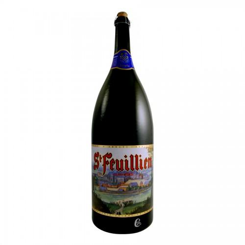 Bouteille de bière SAINT FEUILLIEN 9 LITRES