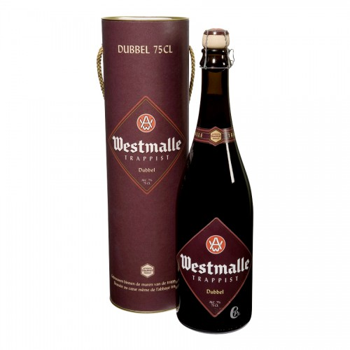 Bière trappiste Westmalle double 75cl - 7%