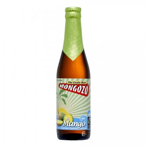 Bouteille de bière Mongozo Mangue Beer 3,6° VC1/3