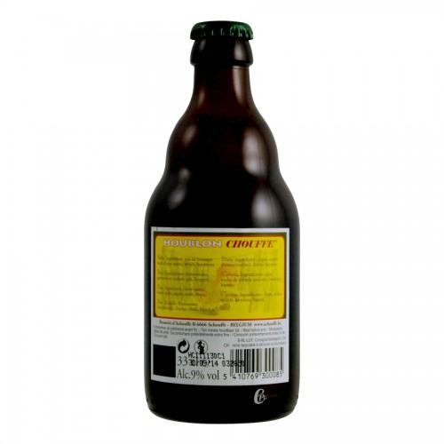 Bouteille de bière HOUBLON IPA Chouffe 9 ° 33CL (Bière)