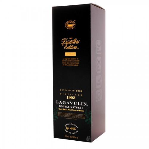 Bouteille de whisky Lagavulin Distillers 43°