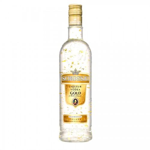 Bouteille de vodka Gold Sobieski 70 cl 37.5°