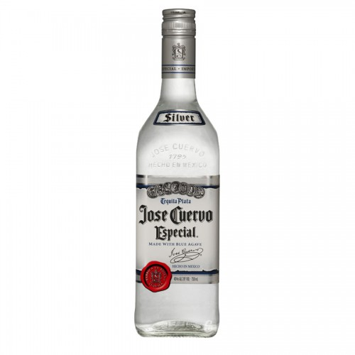 Bouteille de tequila Jose Cuervo Silver 70 cl 38°