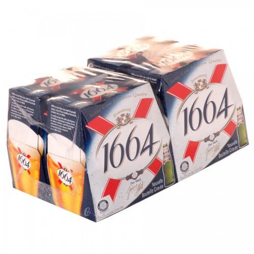 Bouteille de bière 1664