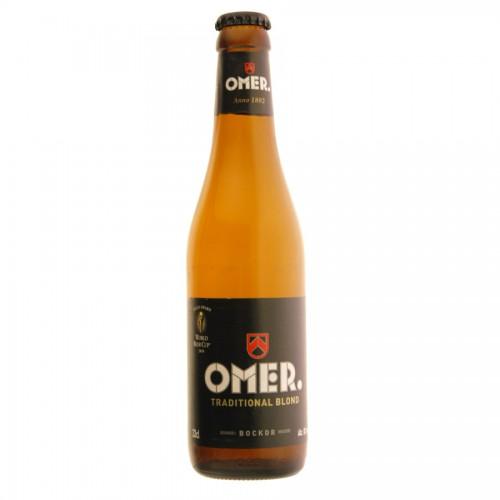 Bouteille de bière OMER 8°