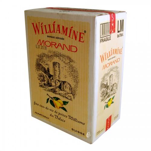 WILLIAMINE MORAND 70cl 43° Eau de vie poire wiliam