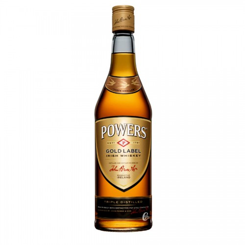 Whisky Power's Gold label 40° 70 cl – Irlandais