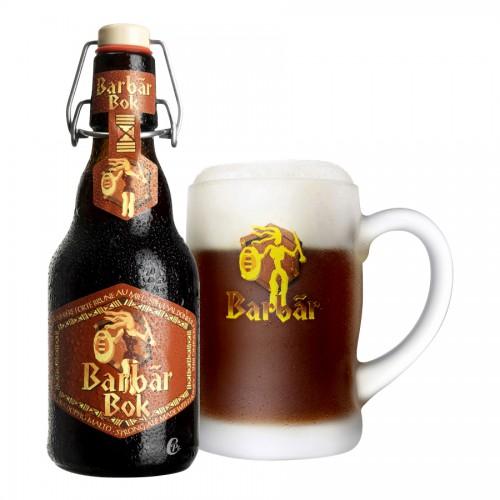 Bouteille de bière Barbar Brune 8°