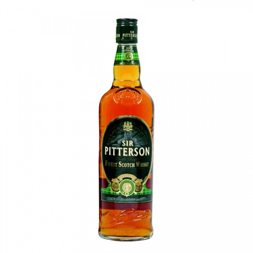 Bouteille de Whisky scotch Sir Pitterson 40° 70 cl (Whisky)