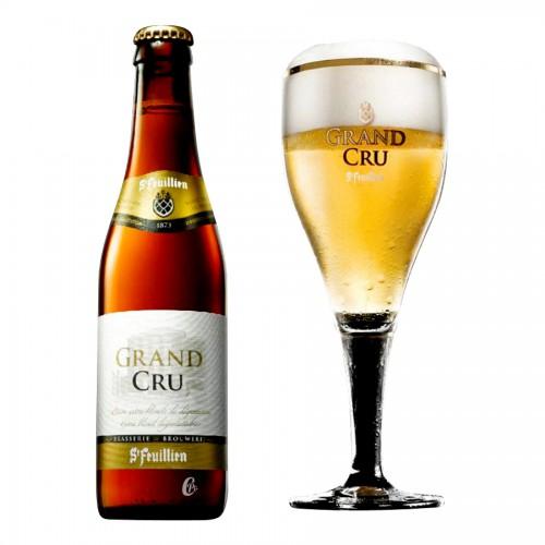 Bouteille de bière ST FEUILLIEN GRAND CRU 9.5°