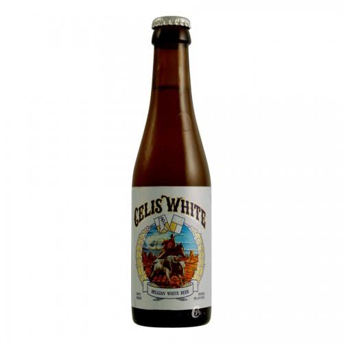 Bouteille de bière CELIS WHITE 5 °