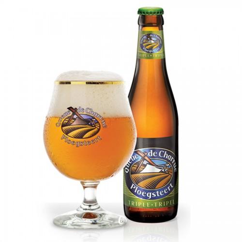 Bouteille de bière QUEUE CHARRUE TRIPLE 9°