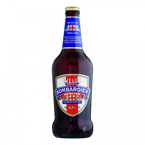 Bouteille de bière BOMBARDIER ALE 4.7°