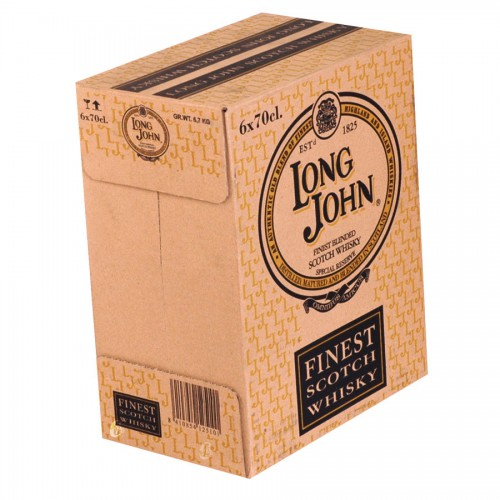 Bouteille de whisky Long John 40°