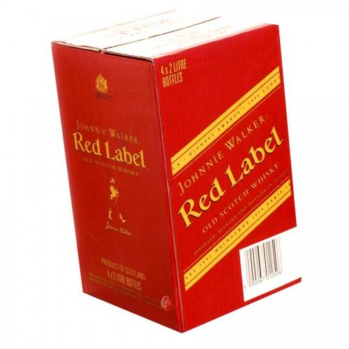 Bouteille de whisky Johnnie Walker Red Label 40° 2l