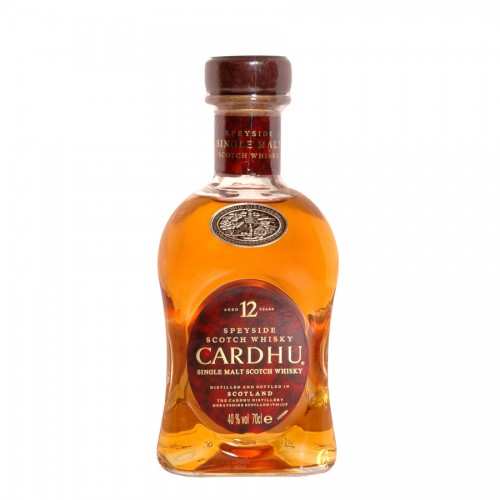 Bouteille de whisky Cardhu 12 ans 70cl 40°