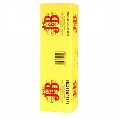 Bouteille de whisky J&B 40° 4.5l