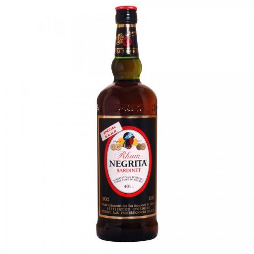 Bouteille de rhum Negrita 40° 1l