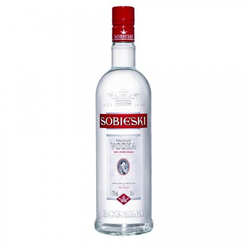 Bouteille de vodka Sobieski 70cl 37,5°