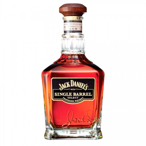 Bouteille de whisky Jack Daniel's Single Barrel 45° 70 cl
