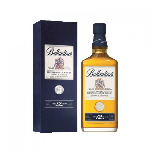 Whisky Ballantine's 12 ans 40° 70 cl avec étui