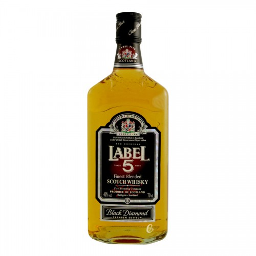 LABEL 5 BLACK DIAMOND 70cl 40°