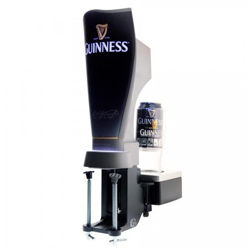 Tireuse a bière Guinness Surger, son verre et sa canette Surger Unit