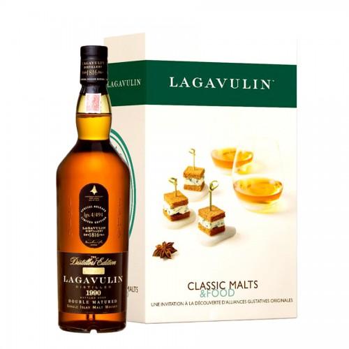 Coffret Whisky Lagavulin Tablier Malts & Food.