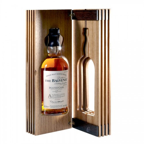 Coffret Whisky The Peated cask de The Balvenie 17ans ( - )
