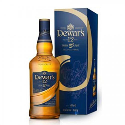 Bouteille de whisky Dewar's 12 ans 70cl 40°
