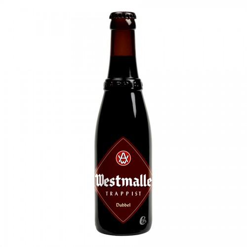 Bouteille de bière Westmalle double