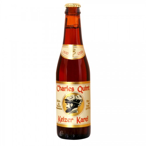 Bouteille de bière Charles Quint Rubis 9°
