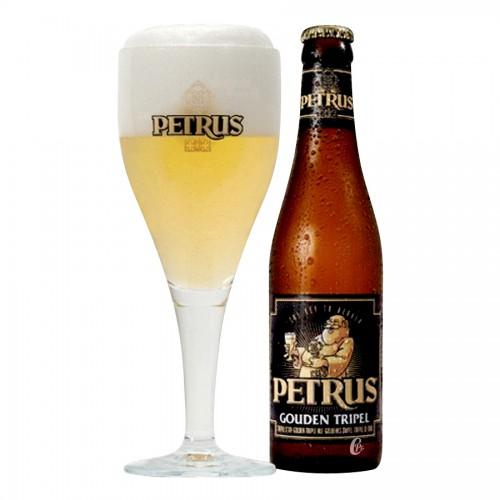 Bouteille de bière Pétrus triple 7,5°