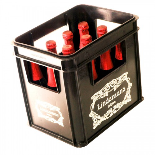 Bouteille de bière Kriek Lindemans 4°