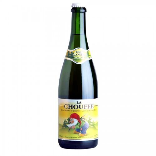 Bouteille de bière Chouffe