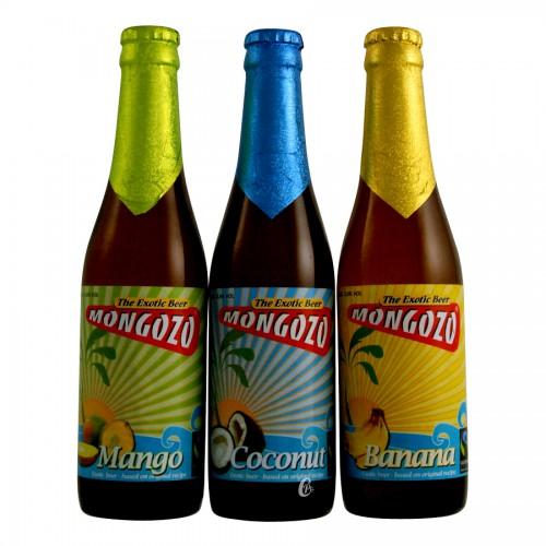 Toutes les parfums de bières Mongozo