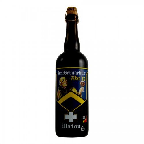 Bouteille de bière ST BERNARDUS ABT12 10° X 12