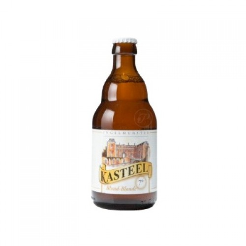 Bouteille biere Kasteel blonde