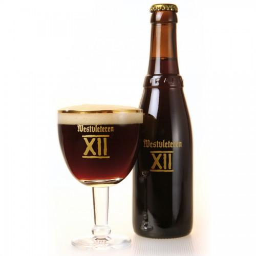 Bouteille et verre à bière Westvleteren