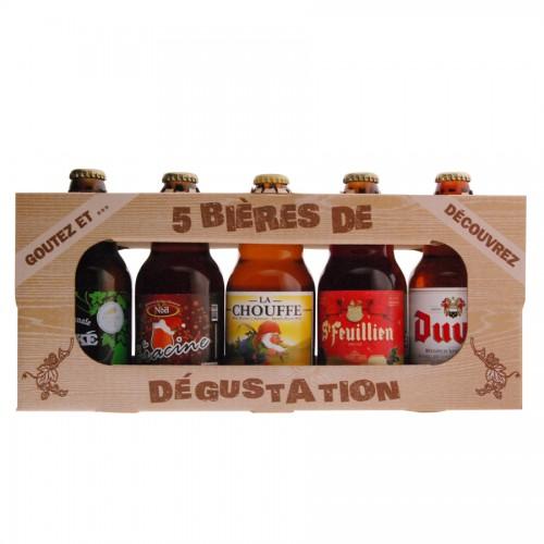 Coffret Dégustation de bière noel